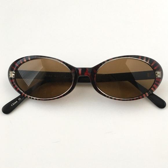 3dea173dd0 Vintage Nine West Thin Oval Trendy Sunglasses. M 5b8719535a9d21a8fe82d0c9